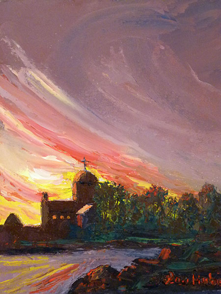 Original Fine Oil Landscape Paintings Of The New England